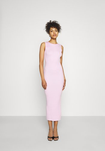 PIPED MIDAXI DRESS - Day dress - pink