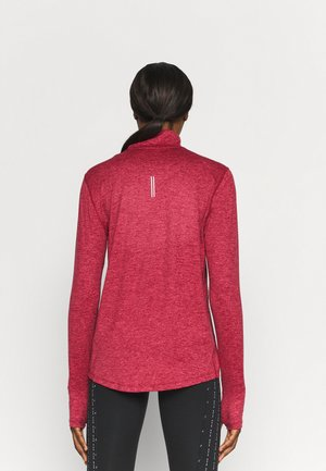 ELEMENT - Long sleeved top - pomegranate/archaeo pink heather/reflective silver