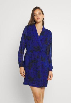 LADIES WOVEN DRESS PREMIUM - Day dress - dandelion cobalt