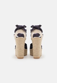 Polo Ralph Lauren - Platform sandals - navy - 3