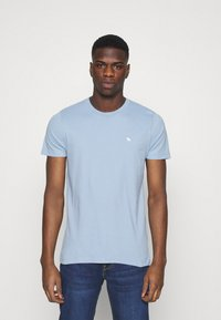 Abercrombie & Fitch - ICON CREW 5 PACK - Jednoduché triko - light blue - 4
