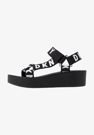 AYLI - Platform sandals - black