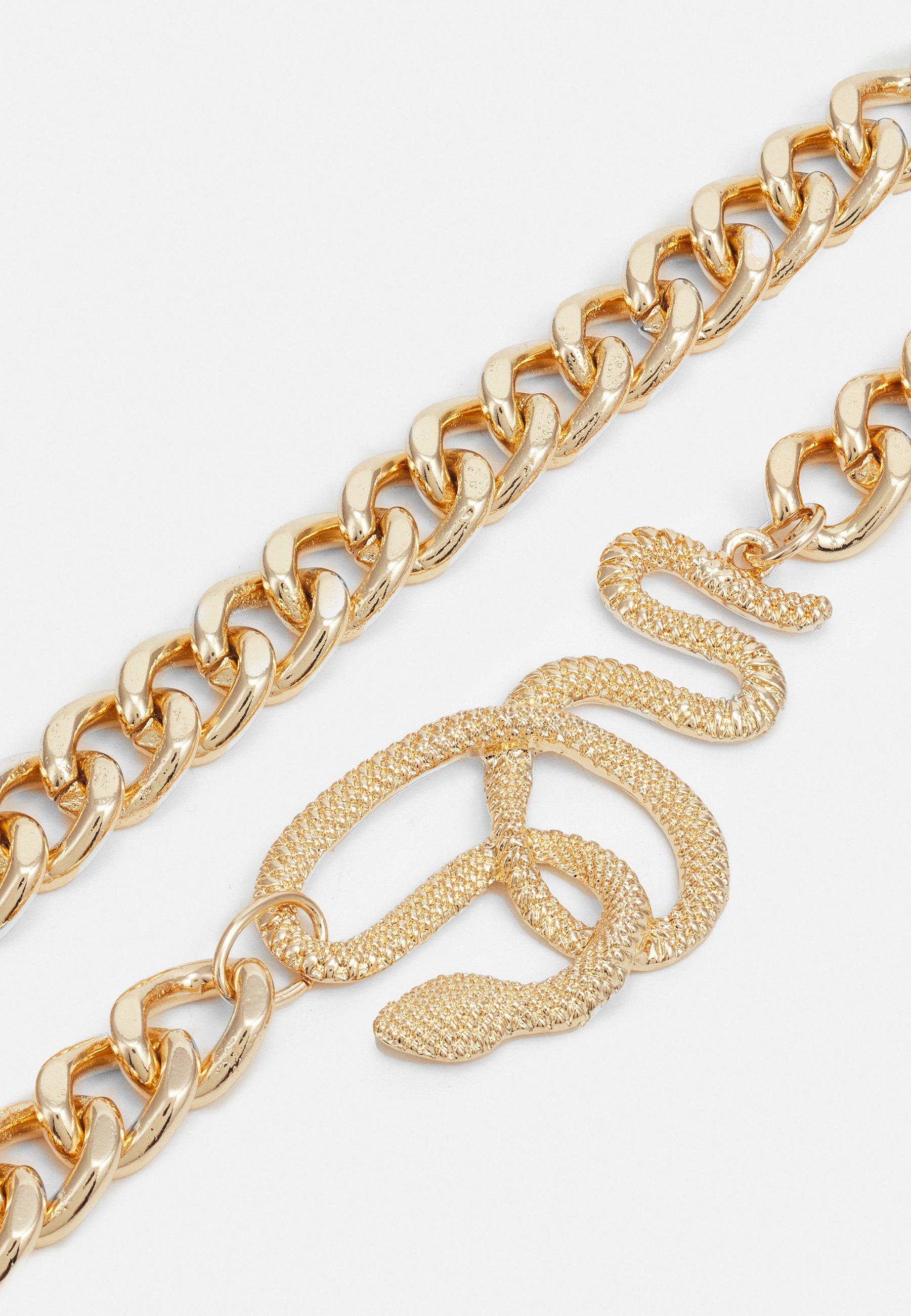 Femme PCSNAPY BRACELET 2 PACK - Bracelet