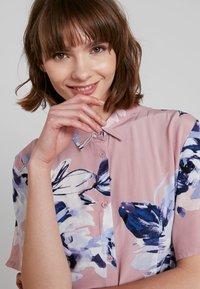 French Connection - CORSETTA DRAPE DRESS - Maxi dress - cinder pink/multi - 4