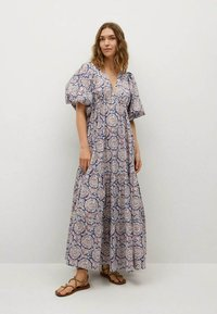 Mango - Długa sukienka - bleu - 0