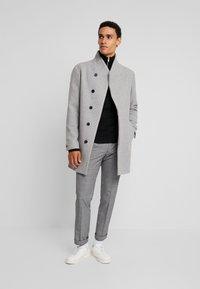 Jack & Jones PREMIUM - JPRCOLLUM - Short coat - light grey melange - 1