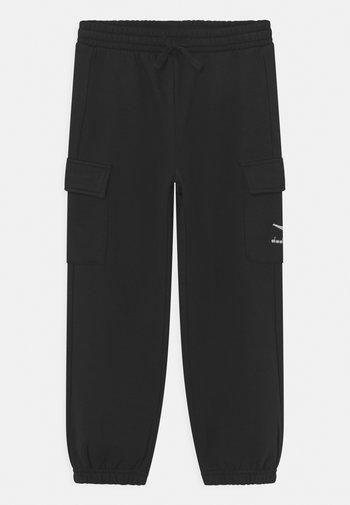 PANTS CUFF HOOPLA UNISEX - Tracksuit bottoms - black