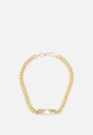 PLATE NECKLACE UNISEX - Smykke - gold-coloured
