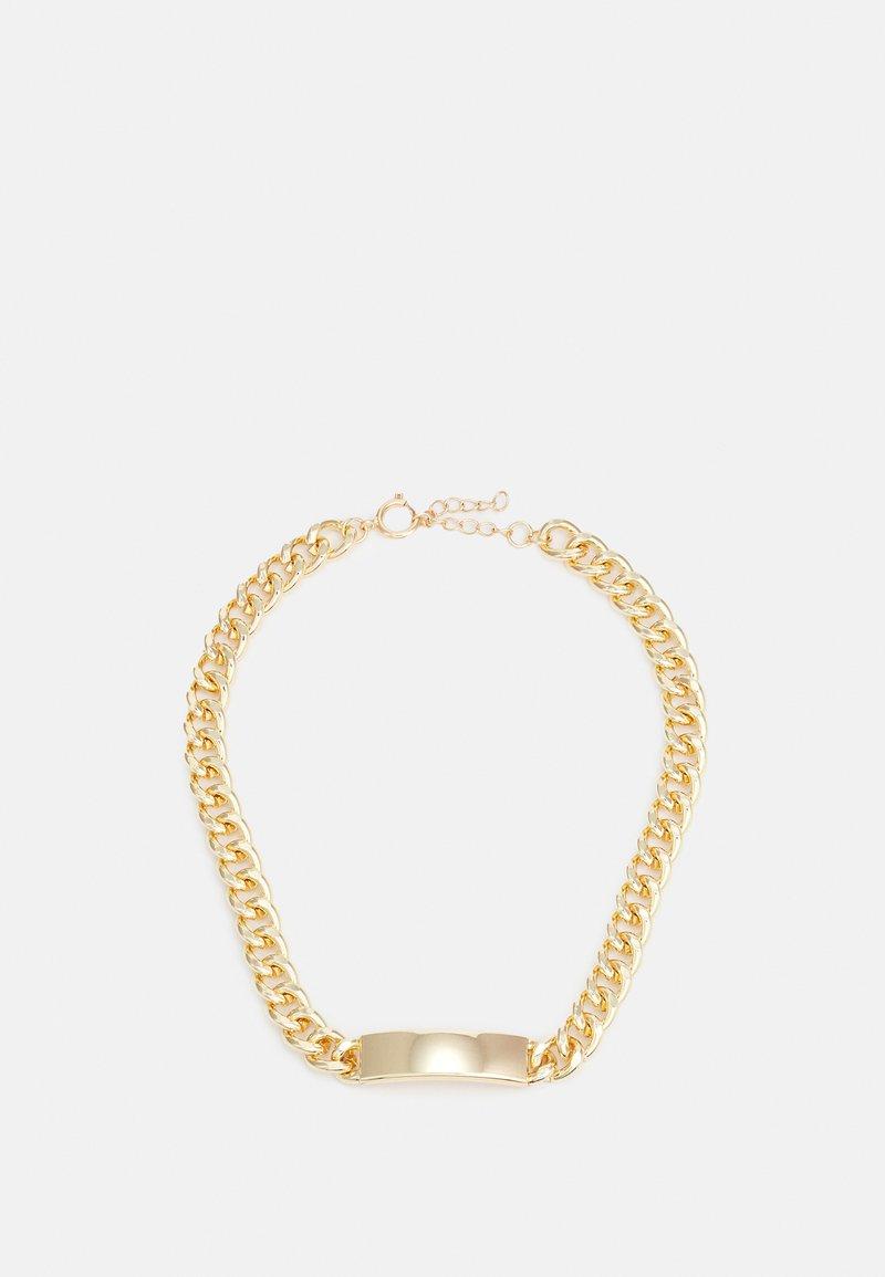 Urban Classics - PLATE NECKLACE UNISEX - Smykke - gold-coloured