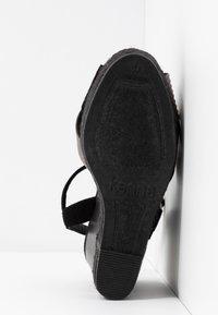 Kanna - NICOLE - High heeled sandals - black - 6