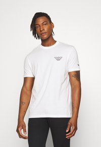 Emporio Armani - T-shirt basic - white - 0