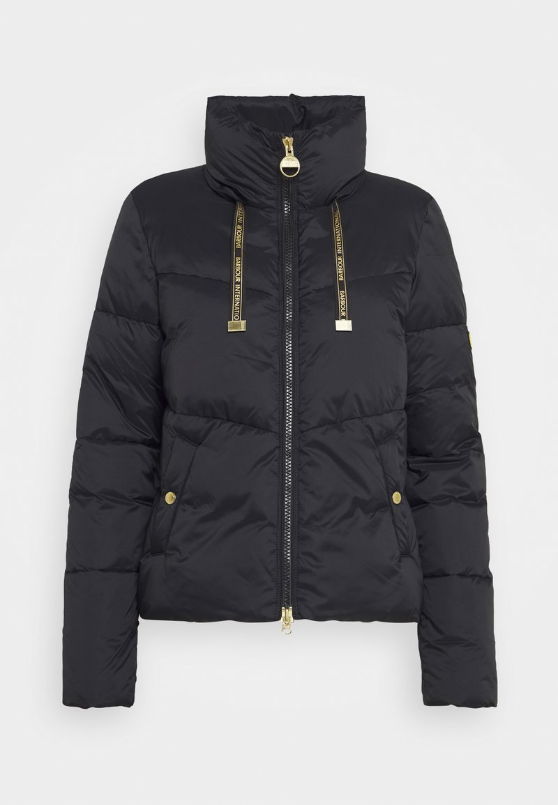 Barbour International - KENDREW QUILT - Zimní bunda - black