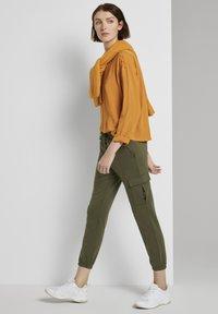 TOM TAILOR DENIM - Blouse - orange yellow - 1