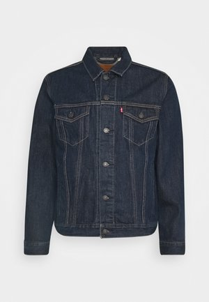 THE TRUCKER JACKET UNISEX - Denim jacket - med indigo