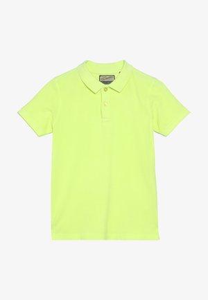 Polo shirt - safety yellow