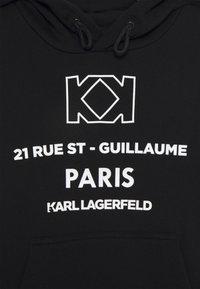 KARL LAGERFELD - HOODED - Sweatshirt - black - 2