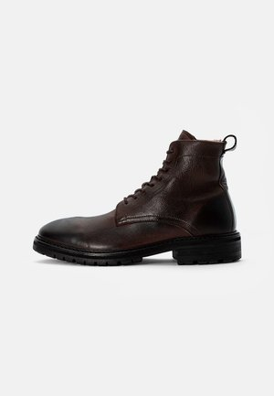 HOWDEN WARM - Lace-up ankle boots - brown
