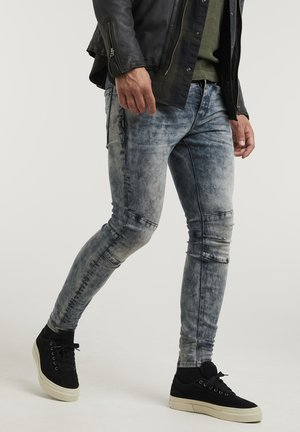 SHANE ELIOT - Slim fit jeans - blue