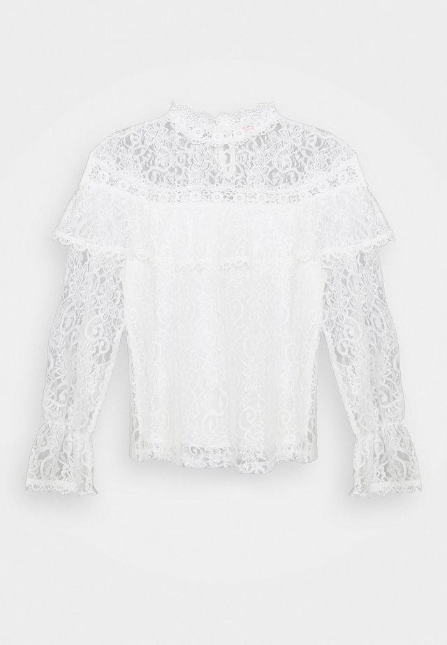 NAIVE - Maglietta a manica lunga - white