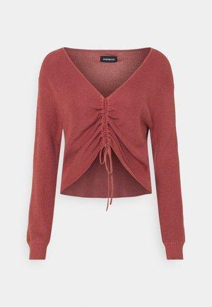 Pullover - light red