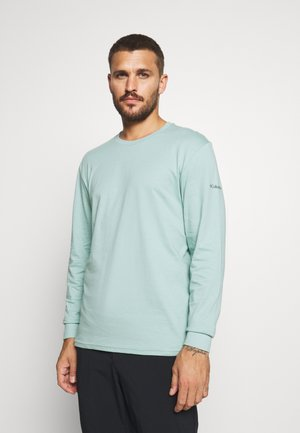 CADES COVELS GRAPHIC TEE - Langærmede T-shirts - aqua tone