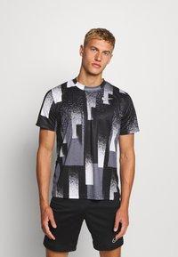 Nike Performance - DRY TOP - Camiseta estampada - black/white - 0