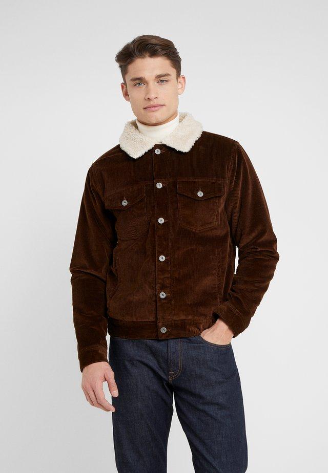 Lett jakke - rustic brown