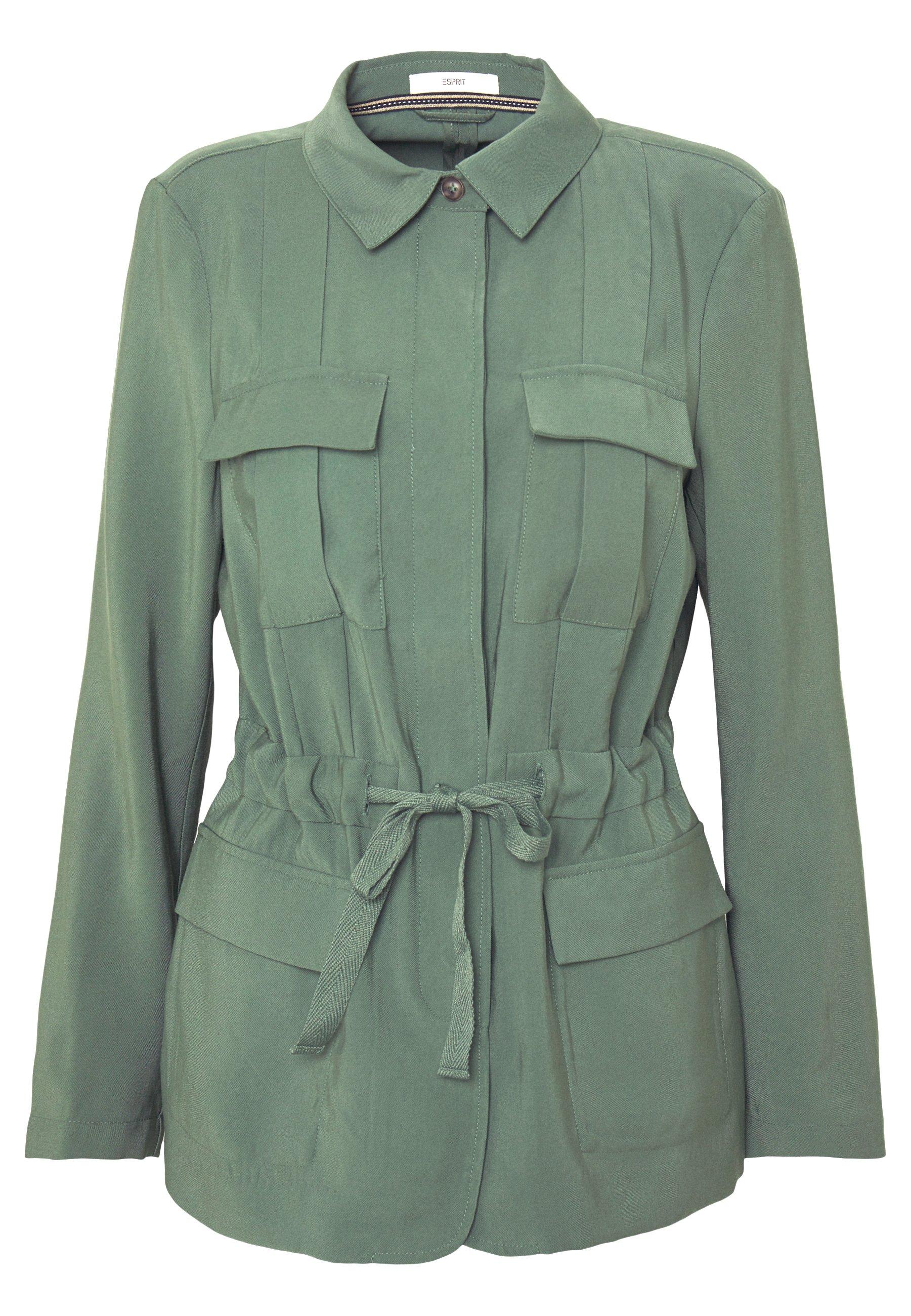 UTILITY Kurtka wiosenna khaki green