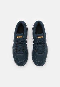 ASICS - GEL-RESOLUTION 8 UNISEX - Tenisové boty na všechny povrchy - french blue/white - 3