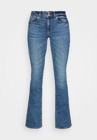 American Eagle - HI RISE ARTIST FLARE  - Flared Jeans - classic medium - 3