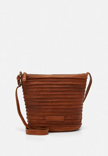 RIFFELINCHEN - Across body bag - caramel