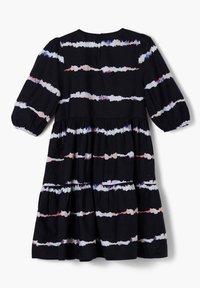 s.Oliver - Day dress - navy stripes - 1