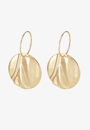 EARRINGS WATER - Kolczyki - gold-coloured