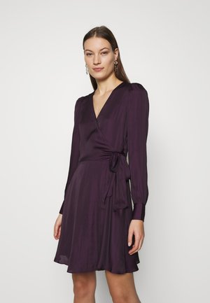 VNECK WRAP SOLID - Cocktail dress / Party dress - evening sky