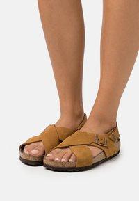 Birkenstock - TULUM  - Sandals - mink - 0