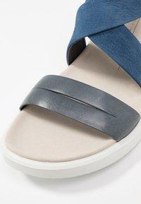 ECCO - FLOWT - Walking sandals - marine/true navy - 2