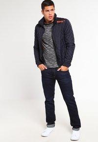 YOURTURN - Långärmad tröja - mottled grey black - 1