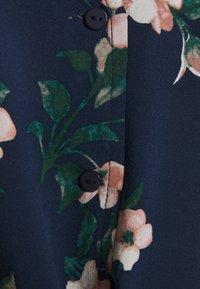 Vero Moda - VMSIMPLY EASY SHIRT TIE - Blouse - navy blazer/imma - 2