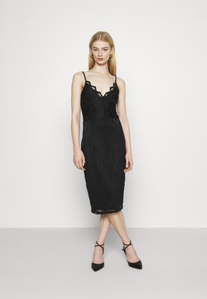 VISTASIA STRAP DRESS - Cocktail dress / Party dress - black