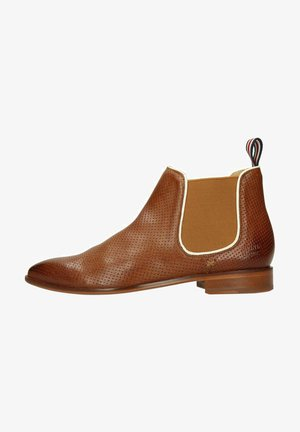 Ankle boots - light brown