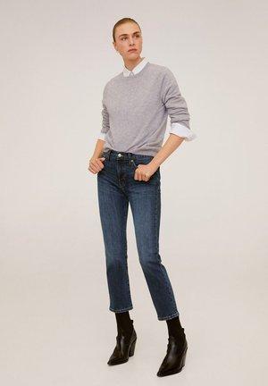 NEWGRACE - Slim fit jeans - donkerblauw