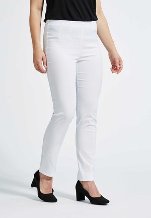 VICKY - Trousers - white