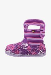 Bogs - BABY GARDEN - Winter boots - purple/multicolor - 1