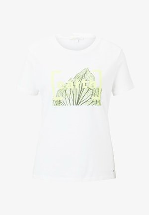T-SHIRT T-SHIRT MIT PRINT IM LOOSE FIT - Print T-shirt - off-white