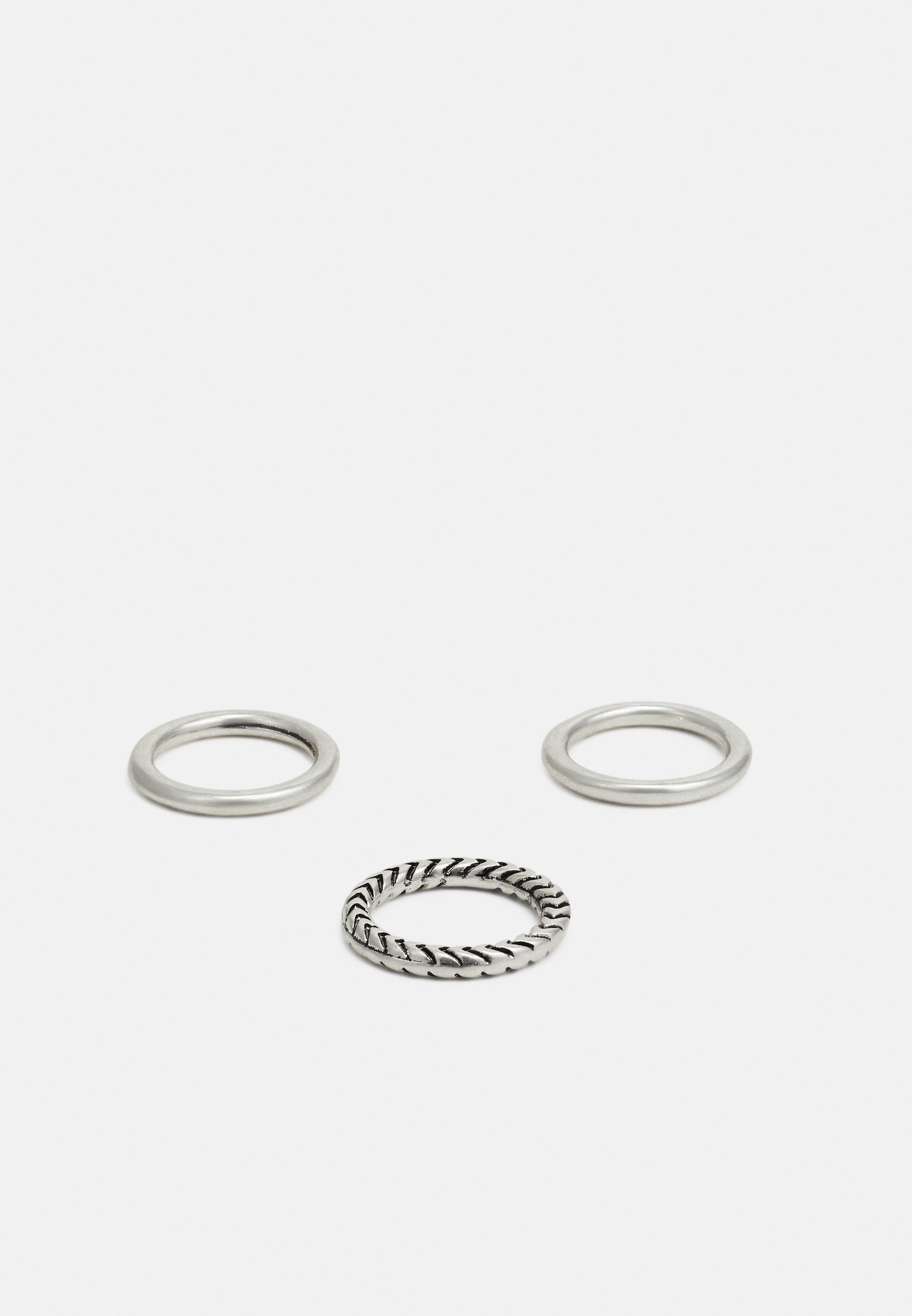 Homme HAND CRAFTED BANDS 3 PACK - Bague