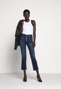 7 for all mankind - THE CROP - Straight leg jeans - dark blue - 1
