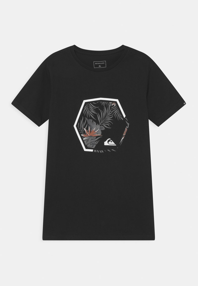 Quiksilver - FADING OUT - T-shirt con stampa - black