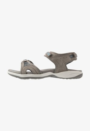 SILKY - Walking sandals - dark grey/blue