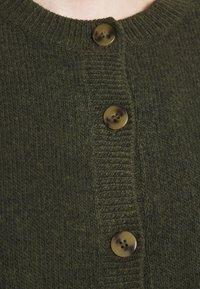 Monki - Cardigan - dark green - 5