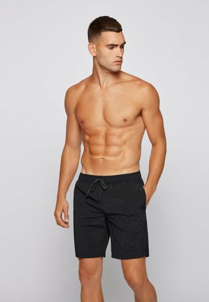 WHALE - Swimming shorts - black